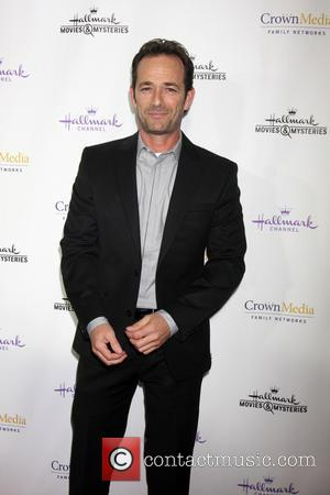 Luke Perry - Hallmark Channel's Northpole Screening Reception at La Piazza Restaurant  at The Grove - Los Angeles, California,...