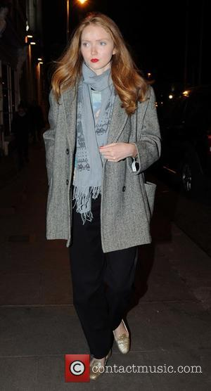 Lily Cole - Lead singer of the Irish rock band U2, Bono held a private dinner party for guests from...