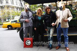Chrissie Hynde - Lead singer of the American rock band The Pretenders Chrissie Hynde arrived to support PETA and NY...