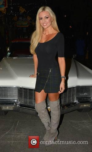 Rosanna Davison - Guests arrive at the opening night of Grease at The Gaiety Theatre, Dublin, Ireland - 05.11.14. -...