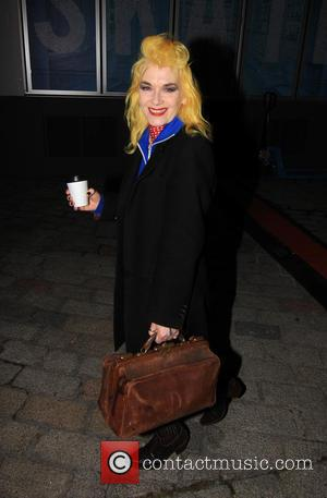 Pam Hogg - Fashion designer Pam Hogg attending Chris Stein/Negative: Me, Blondie, and the Advent of Punk - Private viewing...