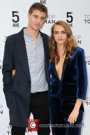 Max Irons and Cara Delevingne
