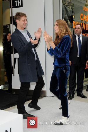 Max Irons and Cara Delevingne - English actor Max Irons, English model Cara Delevingne and the chairman of Arcadia group...