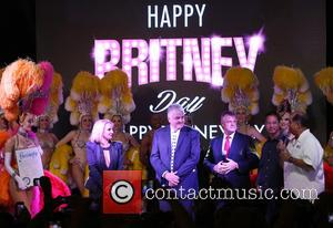Britney Spears - Britney Spears gets a key to the Las Vegas strip and celebrates with her own 'Britney Day'...