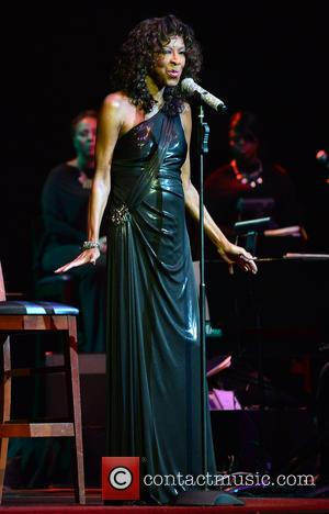 American singer songwriter Natalie Cole gave a live performance at Hard Rock Live! at the Hard Rock Hotel & Casino...