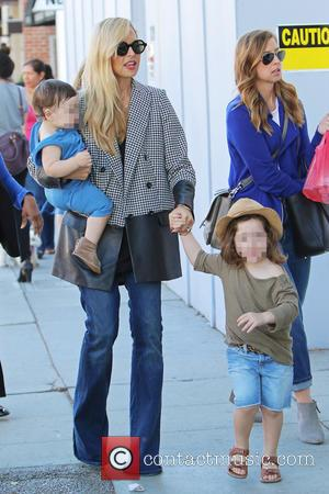 Rachel Zoe, Skyler Morrison Berman and Kaius Jagger Berman - American fashion stylist Rachel Zoe was spotted as she took...