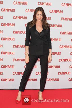 Lisa Snowdon - 2014 Campari Calendar - press launch held at Shoreditch Studios. - London, United Kingdom - Wednesday 5th...