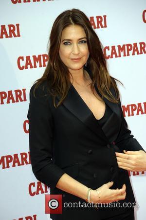 Lisa Snowdon - 2014 Campari Calendar - Press launch held at Shoreditch Studios at Shoreditch Studios - London, United Kingdom...