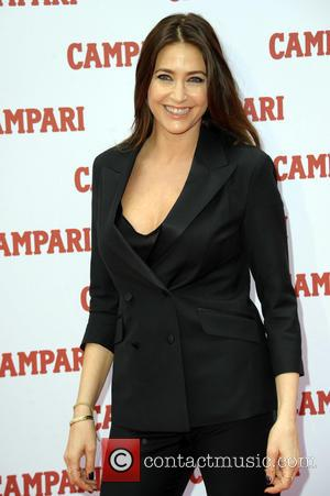 Lisa Snowdon - 2014 Campari Calendar - Press launch held at Shoreditch Studios at Shoreditch Studios - London, United Kingdom...