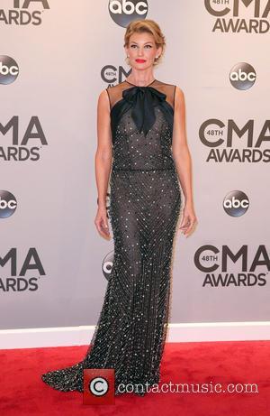 Faith Hill - 48th Annual CMA awards at the Bridgestone Arena - Red carpet at Bridgestone Arena - Nashville, Tennessee,...