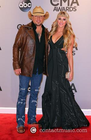 Jason Aldean and Brittany Kerr - Shots of a variety of stars as they took to the red carpet for...