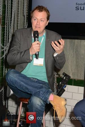 Tom Parker Bowles - Lily Cole talks at the Web Summit while food critic Tom Parker Bowles & Man V...