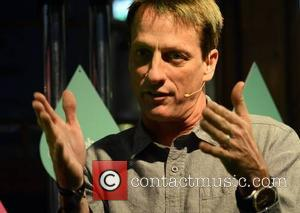 Tony Hawk - Lily Cole talks at the Web Summit while food critic Tom Parker Bowles & Man V Food...