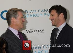 Pierce Brosnan and Harry Connick Jr.