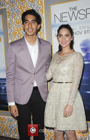 Dev Patel and Olivia Munn