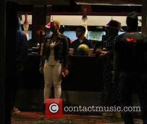 Amber Rose - A variety of celebs were photographed as they left the Pinz Bowling in Studio City, California, United...