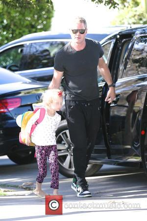 Eric Dane and Billie Dane - Eric Dane heads out for the day with his daughter - Los Angeles, California,...