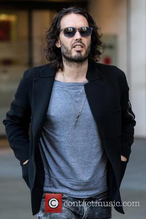 Russell Brand - Russell Brand leaving the BBC Radio 1 studios at BBC Portland Place - London, United Kingdom -...