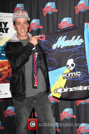 Robbie Maddison and With A Memorabilia Donation