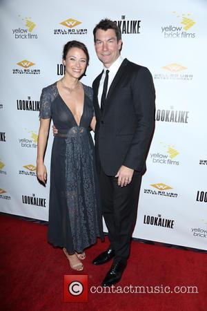 Scottie Thompson and Jerry O'Connell - 'The Lookalike' LA Premiere - Arrivals - Los Angeles, California, United States - Thursday...