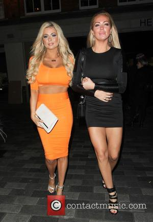 Nicola McLean and Aisleyne Horgan-Wallace - Celebrities attend the launch party of the Cicchetti bar at Piccolino - London, United...
