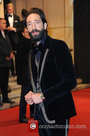 Adrien Brody - GQ Maenner des Jahres (Men of the year) award 2014 at Komische Oper in Mitte. at Komische...