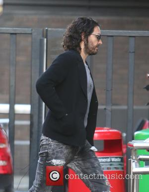 Russell Brand - Russell Brand outside ITV Studios - London, United Kingdom - Thursday 6th November 2014