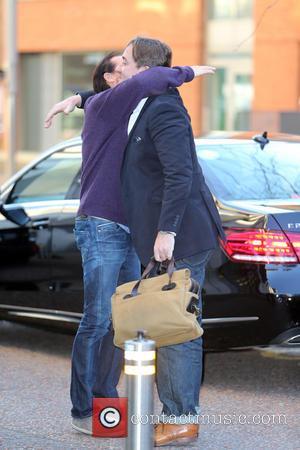 Jerome Flynn and Matthew MacFadyen - Jerome Flynn and Matthew MacFadyen outside the ITV Studios - London, United Kingdom -...