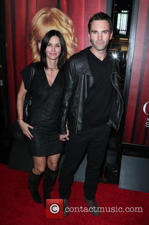 Courteney Cox and Johnny McDaid - A variety of stars were photographed as they attended the premiere of HBO's