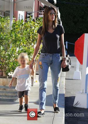 Alessandra Ambrosio and Noah Phoenix Ambrosio Mazur
