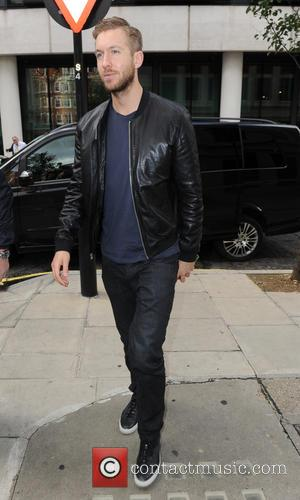Calvin Harris - Calvin Harris seen out in London at BBC Radio Two Studios - London, United Kingdom - Friday...