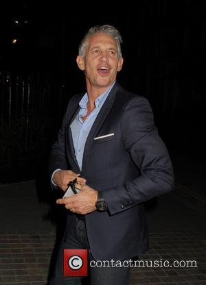 Gary Lineker - Celebrities at Chiltern Firehouse in Marylebone - London, United Kingdom - Friday 7th November 2014