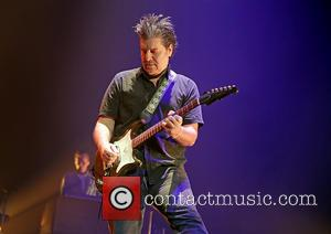 Counting Crows and David Immerglück - Counting Crows perform live at the O2 Apollo Manchester at Manchester O2 Apollo -...
