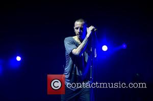 Chester Bennington and Linkin Park - American rock band Linkin Park perform at the Ziggo Dome on their 'The Hunting...