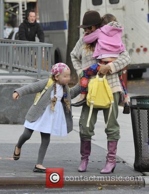 Sarah Jessica Parker, Marion Broderick and Tabitha Broderick - Sarah Jessica Parker takes her twin daughters Tabitha and Marion Broderick...