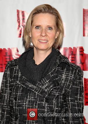 Cynthia Nixon - Opening night after party for The New Group production Sticks and Bones, held at the Out NYC...