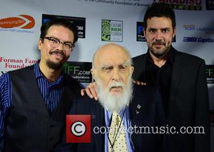 Deyvi Pena, James Randi and Justin Weinstein - The 29th Annual Fort Lauderdale International Film Festival - Opening Ceremony at...