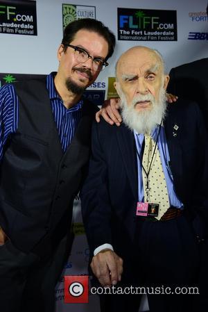 Deyvi Pena and James Randi - The 29th Annual Fort Lauderdale International Film Festival - Opening Ceremony at Amaturo Theater...