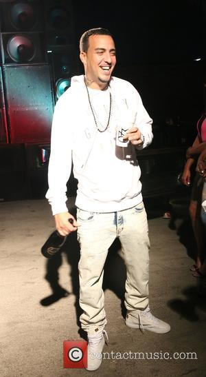 French Montana - Rick Ross shoots his new music video for the song 'If They Knew' featuring K. Michelle at...
