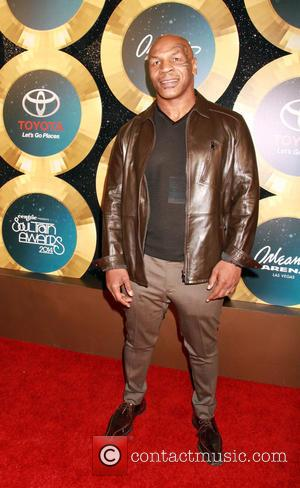 Mike Tyson - Soul Train Awards 2014 held at Orleans Arena - Arrivals at MH - Las Vegas, Nevada, United...