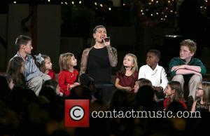 Idina Menzel - 2014 CMA Country Christmas at Bridgestone Arena - Performances at Bridgestone Arena - Nashville, Tennessee, United States...