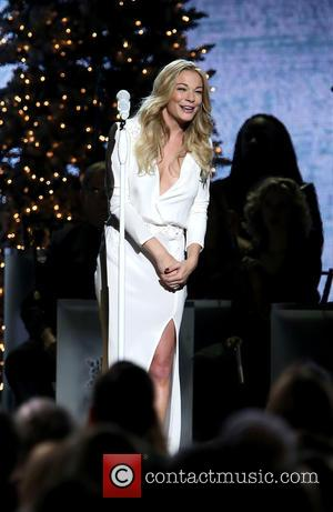 LeAnn Rimes - 2014 CMA Country Christmas at Bridgestone Arena - Performances at Bridgestone Arena - Nashville, Tennessee, United States...