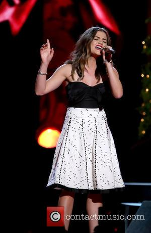 Lucy Hale - 2014 CMA Country Christmas at Bridgestone Arena - Performances at Bridgestone Arena - Nashville, Tennessee, United States...