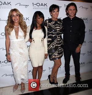 Faye Resnick, Malika Haqq, Kris Jenner and Jonathan Cheban