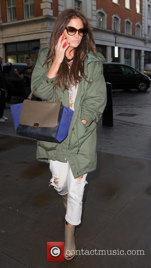 Binky Felstead and (Alexandra Felstead) - Made in Chelsea stars at the BBC Radio 1 studios at BBC Portland Place...
