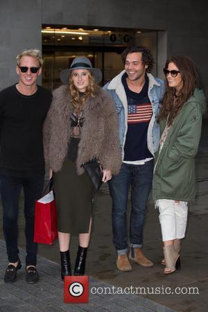 Binky Felstead, (alexandra Felstead), Rosie Fortescue, Jamie Laing and Andy Jordan