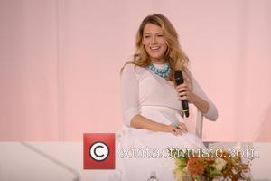 Blake Lively - 2014 American Made Summit: Martha Stewart one on one with Blake Lively - Manhattan, New York, United...