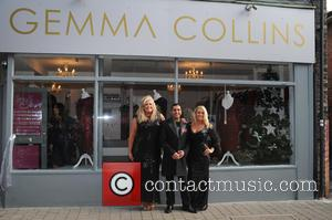 Gemma Collins - Gemma Collins opens her new shop 'Gemma Collins Boutique' in Brentwood - London, United Kingdom - Saturday...