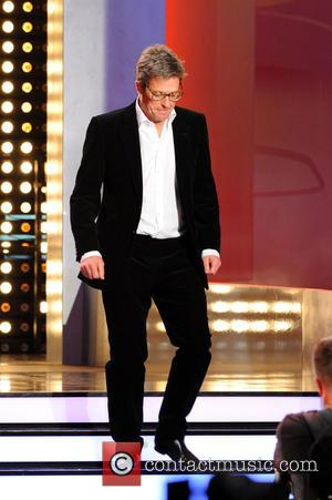 Hugh Grant - German ZDF Live TV show 'Wetten, dass..?' at Stadthalle at Stadthalle - Graz, Austria - Saturday 8th...