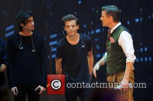 One Direction, Zayn Malik, Louis Tomlinson and Markus Lanz